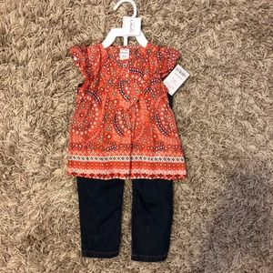 Boho Carter's Outfit 12 month
